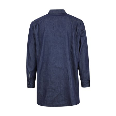 Engineered Garments Bird Shooter Shirt - Indigo