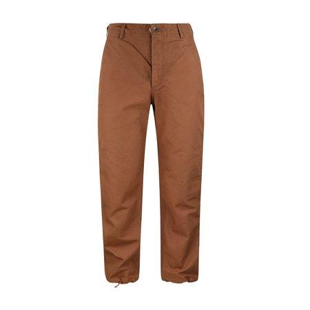 Engineered Garments Duck Canvas Logger Pants - Brown