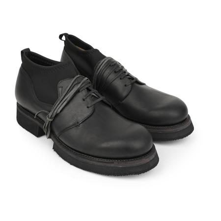 The Viridi-Anne GUIDI Leather Shoes - Black