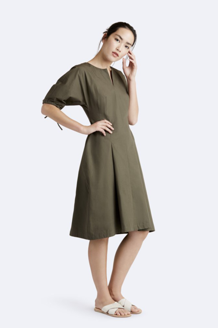 Rallier Nora Dress -  Olive