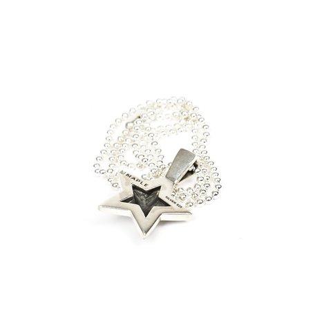 MAPLE STAR PENDANT - Silver