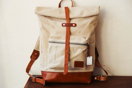 Bradley Mountain Biographer Rucksack - Oatmeal