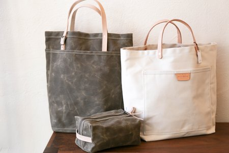 Bradley Mountain Utility Tote - Field Tan/Natural
