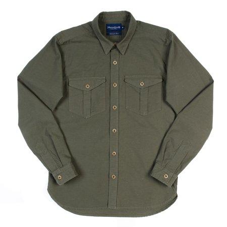 Freenote Cloth Dayton Shirt - Nep Army Green