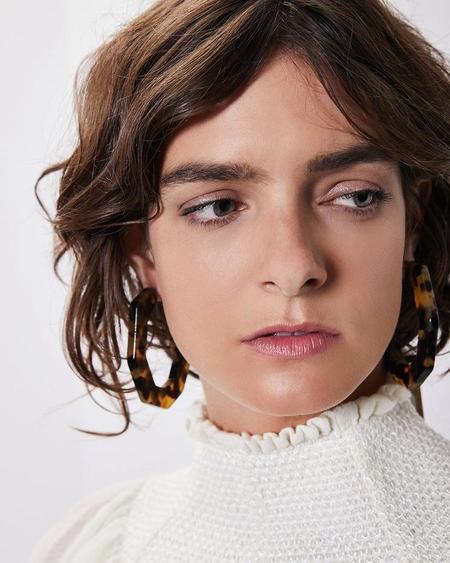 Rachel Comey FACTOR EARRINGS - Tortoise