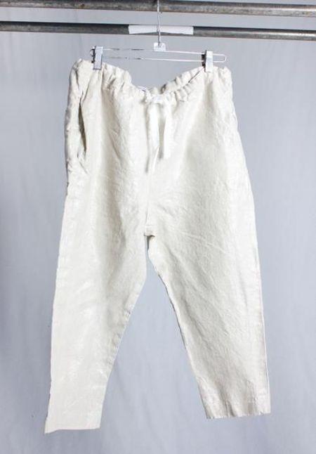 Hazel Brown Slouch Pant - Silver