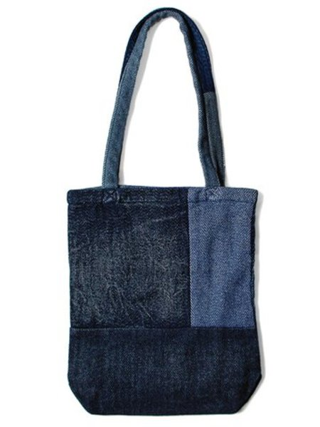 Kapital Tweed Patchwork Tote