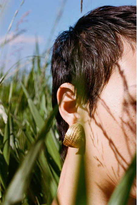 Brigitta Imperfect Earring - Gold
