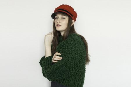 Lola Hats Classic Chauffeur Hat - Red