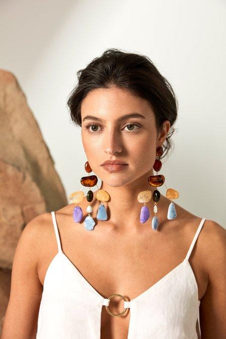 CULT GAIA Sloan Earring - Amber Multi