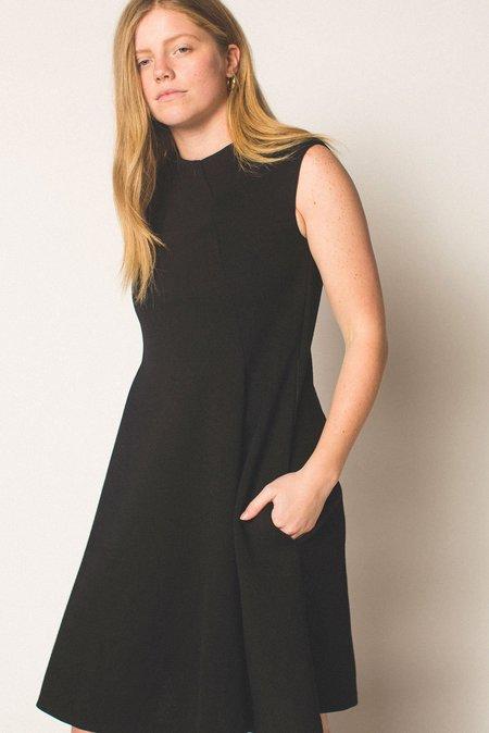 Preservation Vintage Sleeveless Knit Dress - Black