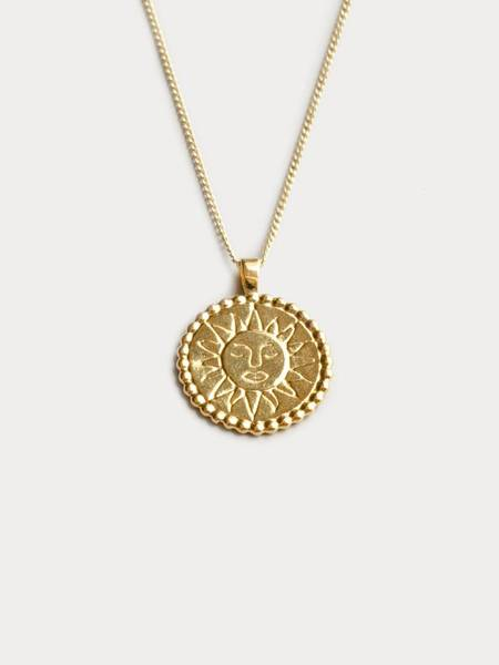 Wolf Circus Lumen Necklace - Gold
