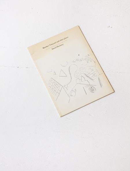 Vintage Print Martha's Vineyard - David Hockney