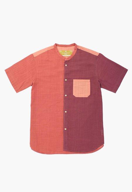 New Market Goods Button-down Shirt - Earthtone