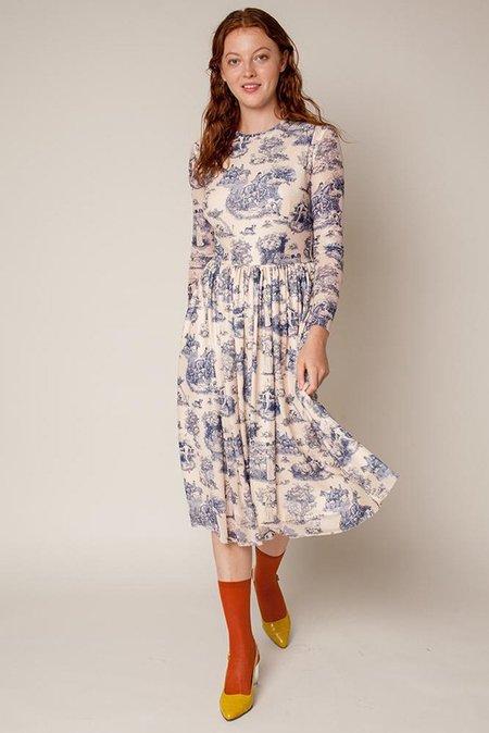 Rachel Antonoff Van Midi Dress Manhunt - Toile