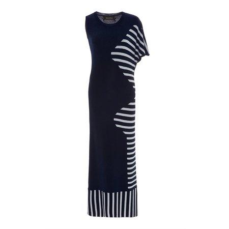 Tabula Rasa Dagani Dress - Navy/White