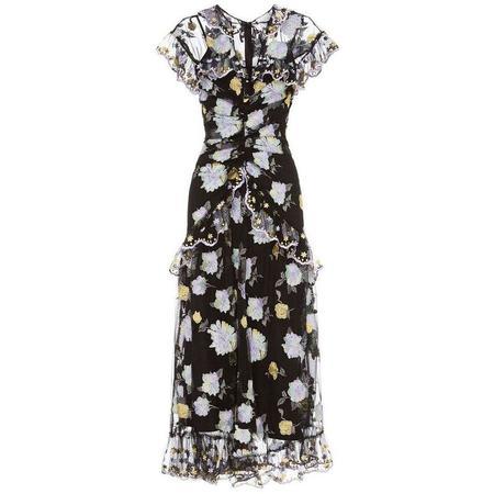 ALICE MCCALL Floating Delicately Dress - BLACK
