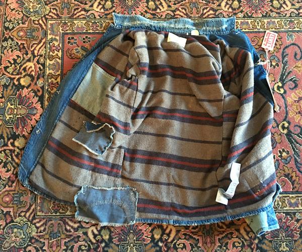 Men's Levi's 1915 Blanket Lined Sack Coat In Single Jack