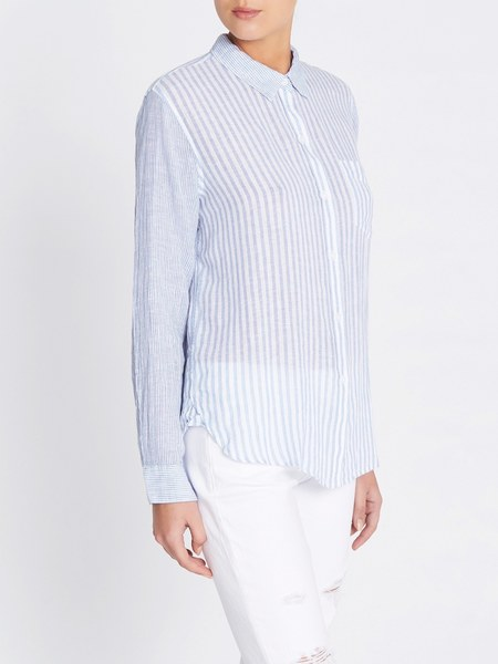 Rails Charli Shirt - Mixed Powder Blue