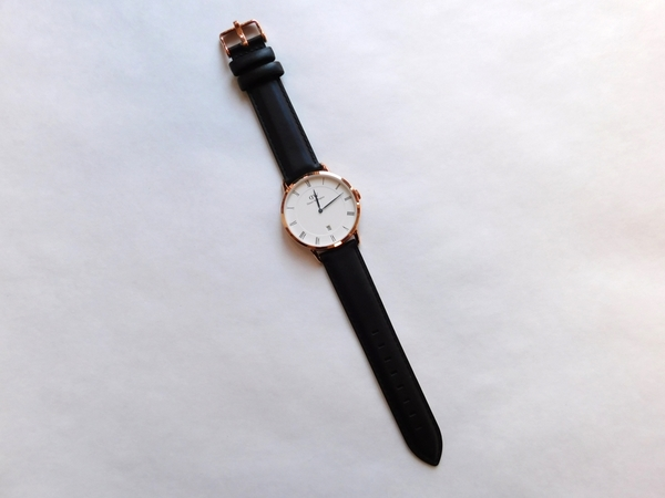 Daniel Wellington Sheffield Unisex Rosé 38mm Dapper Watch