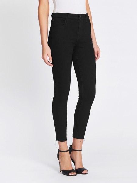 J Brand Alana High Rise Crop Skinny Jean - Vespa