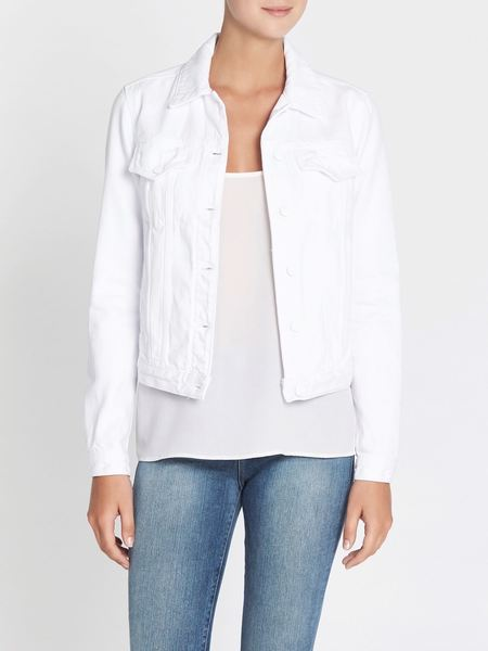 J Brand Denim Jacket - Optic White