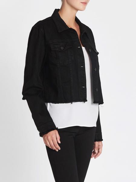 J Brand Fray Crya Jacket - Black