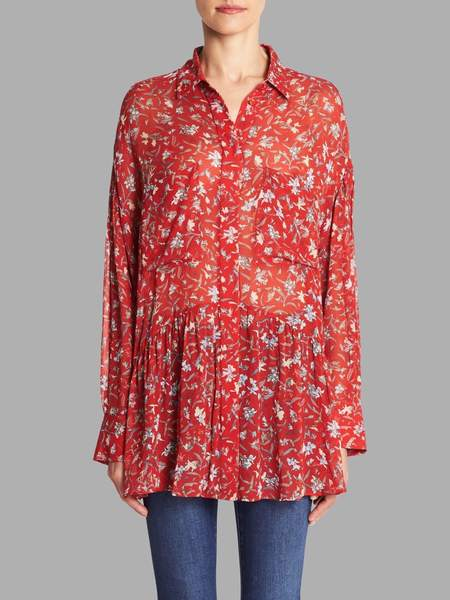 IRO Bedford Blouse - Red
