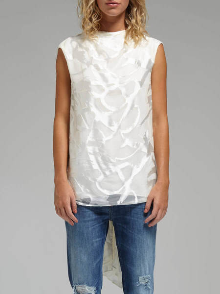 Camilla and Marc Perspective Top - WHITE