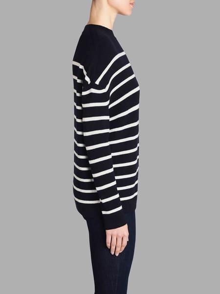 MiH Jeans Rib Breton Warmer - Navy/Cream
