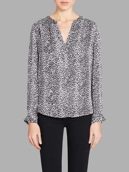 Joie Carita Blouse - Leopard Print