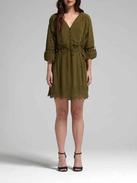IRO Fedra Dress - Army Green