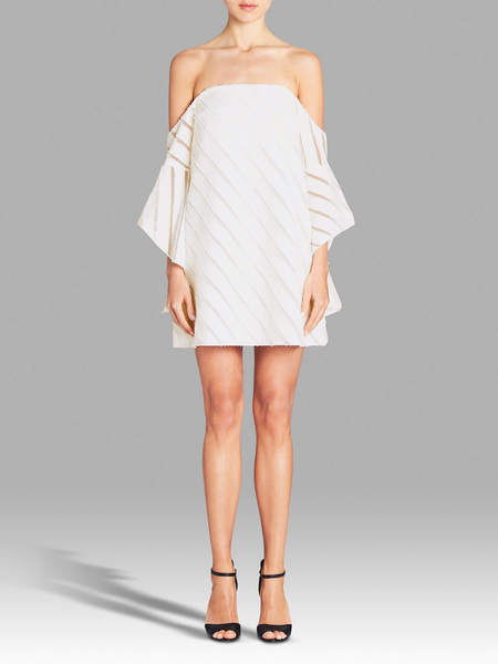 Camilla and Marc Statice Mini Dress - WHITE