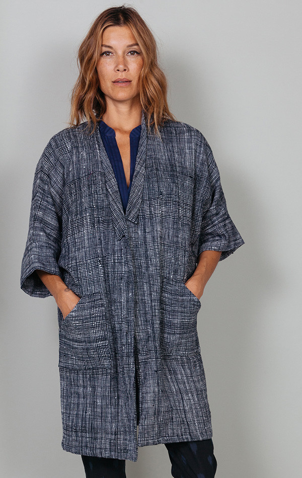 Two Indigo Coat