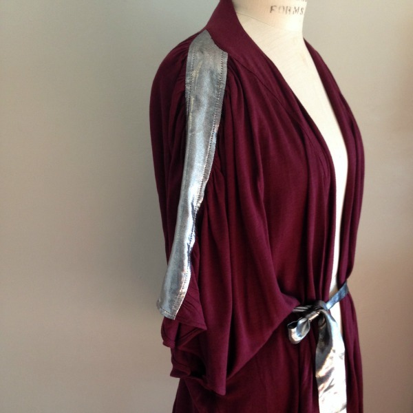 Aime Gather belted cardi