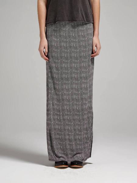 Joie Lakota Spot Jersey Maxi Skirt