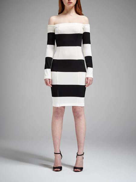 N / Nicholas Orchard Dress - Stripe