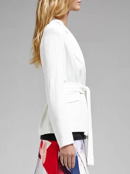 IRO Cleland Jacket - White