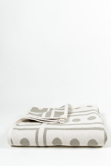 ZigZagZurich CoopDPS Cotton Blanket