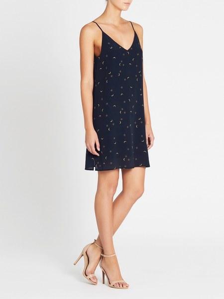 Rails Brianna Dress - Navy Crescent Moon
