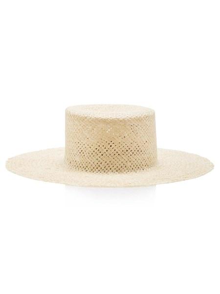 Janessa Leone Beatrice Hat - Beige