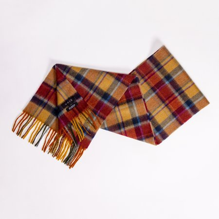 Unis Lambswool Scarf - Hunting Check