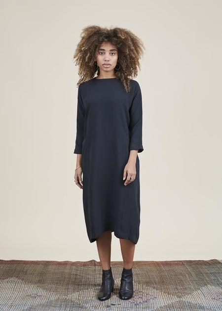 Evam Eva Dolman Pocket Dress - Black