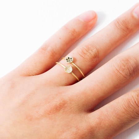 AIL Starry Night Ring - White Diamond