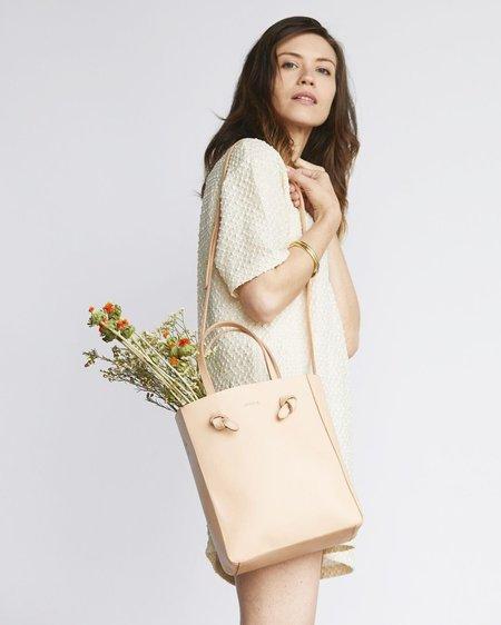 Nisolo Simone Crossbody Shopper - Natural Vachetta