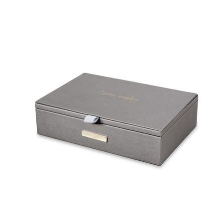 Katie Loxton Jewelry Box Sparkle Everyday - Metallic Charcoal