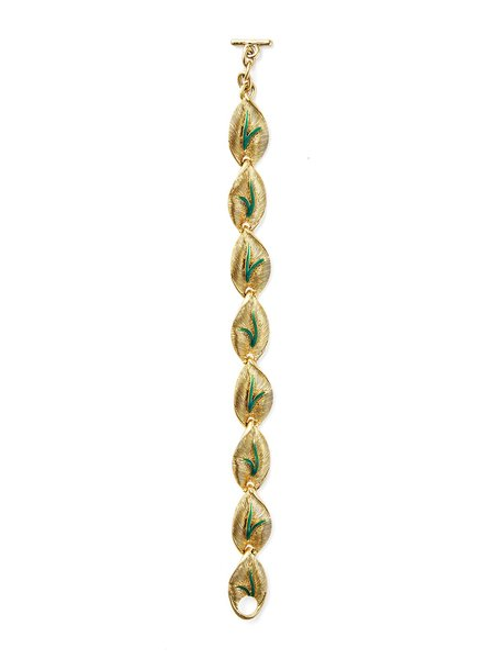 Vintage Love & Object Balmain Autumn Bracelet - GOLD