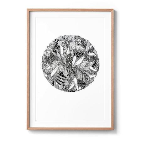 Sophia Mary Mac Lennox Head 2 Art Print