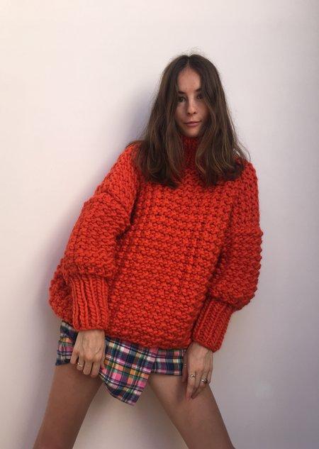 The Knitter Mr Ribbly Knit