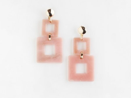 Valet Toucan Earrings - Pink